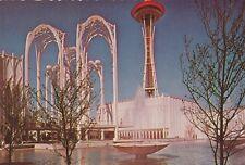 "*Washington Postcard-""The Seattle Science Center""  /Civic Center/ (U2-2)"