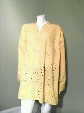MAIN STREET BLUES Women's Yellow  Blouse/ Top ~Size 2X