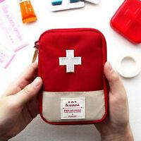 First Aid Kit Outdoor Camping Emergency Survival Bag Waterproof Medical Gr Tk bv