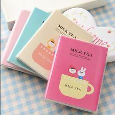 """Milk Tea"" 1pc Mini Pocket Planner Notebook Cute Diary Pocket Journal Memo"