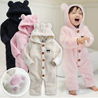 "Vaenait Baby Snowsuit Fleece Hoodie Jumpsuit Outwear ""Bear One-Piece"" 6-24M"