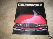 1988 Buick Full Line Park Avenue Riviera Regal LeSabre Century sales brochure