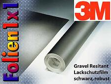 3M Gravel Resistant Lackschutz Folie 440 µm schwarz matt strukturiert 122 x 25cm