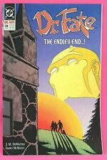 Dr. Fate #24 Doctor The Endless End 1991 Comic DC Comics VG-