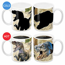Jurassic World Park 330ml Heat Change Ceramic Coffee Mug New In Box Licensed