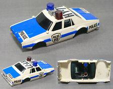 1979 Aurora AFX '79 Chevy Pursuit HY-71 Police Slot Car BODY No Front Bumper