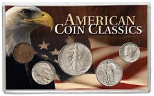 """1880-1947 U.S. American Coin Classics """"Constitutional Silver"""" Set Fine SKU54682"""
