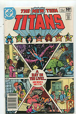 The New Teen Titans # 8 VF A Day In The Lives ..And What A Day It Is DC CBX35