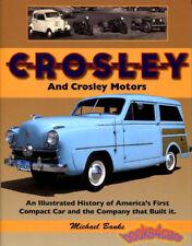 CROSLEY CAR MOTORS BOOK HISTORY HOTSHOT BANKS POWELL COUPE STATION WAGON COBRA
