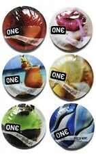 50 Pack - One Flavor Waves Condoms Assorted Flavores - Same Day Free Shipping