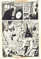 Wonder Woman #249 p. 15 - Wonder Woman & Hawkgirl Action 1978 art by Jose Delbo