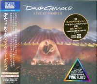 DAVID GILMOUR-LIVE AT POMPEII-JAPAN 2 BLU-SPEC CD2+BOOK H40