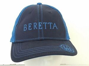Beretta Blue Firearms Ball Cap Hat Embroidered Adjustable