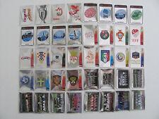 PANINI EM EC EURO 2008 08 - COMPLETE SET 40 SCUDETTI BADGE WAPPEN PERFETTI MINT