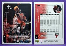Michael Jordan Chicago Bulls 1998-99 UD MVP Basketball Sample Promo Card #S1