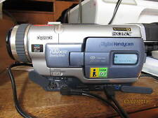 Sony DCR-TRV330E Digital 8 Camcorder ideal for transferring tapes