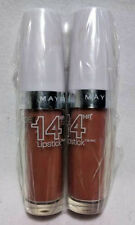 2 PACK MAYBELLINE SUPER STAY 14 HOUR LIPSTICK NEVER ENDING NUDE 030 NEW SEALED