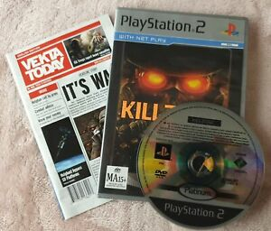 Killzone for Sony PS2 - AUS PAL- Great Disc & Warranty from AUS Seller