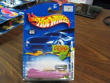 Hot Wheels 2002 First Edition Custom 59 Cadillac Pink 20/42 MONMC
