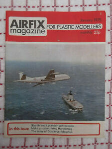 Airfix Magazine January 1975 used but in good condition