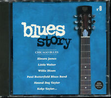 BLUES STORY - N°9 CHICAGO BLUES - CD COMPILATION NEUF ET SOUS CELLO