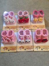 Baby Toddler Anti Slip 3D Socks Job Lot Girls Set Baby Shower Gift