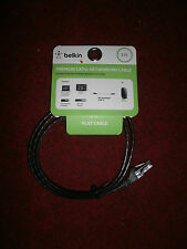 BELKIN PREMIUM CAT5e NETWORKING CABLE FLAT CABLE 3 FEET LONG