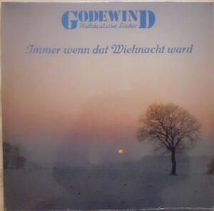 """Godewind """"Immer wenn dat Wiehnacht ward"""", LP, Neuware/OVP, Plattdeutsche Lieder"""