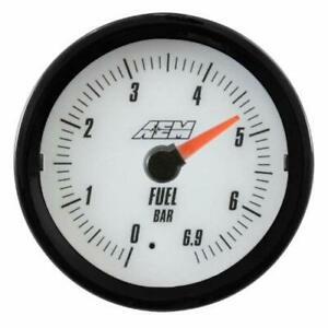 AEM 30-5133M METRIC OIL PRESSURE Gauge 0-6.9BAR with Analog Face