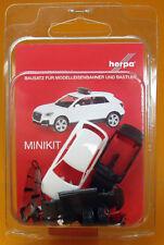 Herpa MiniKit Audi Q2 weiß unbedruckt Scale 1 87 NEU OVP 013161