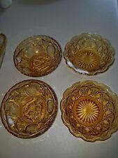 Amber Depression Glass.