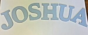 "KidKraft Wooden MDF Sky Blue Wall Hanging Letter 8"" High J O S H U A KidCraft"