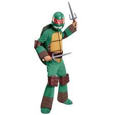 NEW Teenage Mutant Ninja Turtles RAPHAEL Deluxe Child Halloween Costume L 10-12