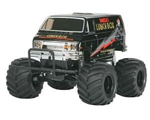 "Tamiya Lunch Box ""Black Edition"" 2WD Electric Monster Truck Kit [TAM58546]"