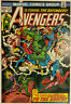 THE AVENGERS 118 Marvel Comics 1973 DEFENDERS War Silver Surfer Loki IRON MAN