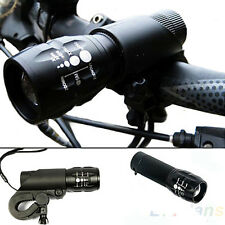 240Lumen CREE Q5 Cycling Bicycle LED Bike Front Head Light Torch Lamp + Mount