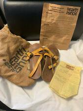 Vtg Hippie Kalso Earth Shoes Sz.38 Sandals W/Original Bag , Receipt & Paperwork