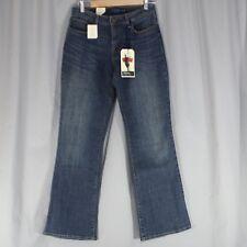 Levis 10/30 Bold Curvy Boot Cut Women Jeans Pants Blue Medium Wash New NWT