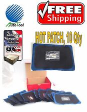 """Dual Cure HOT Square Booth Radial Tire Repair Patch 2-7/8 """" x 4-5/8 """" Box of 10"""