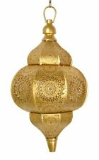 Antique Decor Golden Hanging Lamps Moroccan Ceiling Lights Home Lantern Gifts