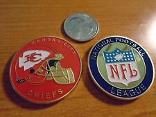 NFL Kansas City CHIEFS Football Team Challenge Coin / Comes w Hard Case
