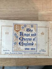 JOHN PLAYER ALBUM THE KINGS AND QUEENS OF ENGLAND Great Condition Free Shipping
