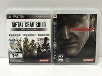 Metal Gear Solid HD Collection (Sony PlayStation 3, 2011) Metal Gear Solid 4 PS3