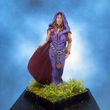 Painted Fenryll Miniature Female Villager