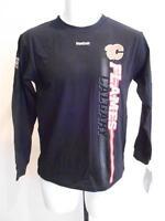 NEW-MENDED Calgary Flames YOUTH MEDIUM (10/12) Reebok Long Sleeve Shirt