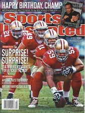 "ALEX SMITH SF 49ers ""The Road to XLVI""  2012 Sports Illustrated Issue NO LABEL"