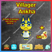 Animal Crossing New Horizons | Villager Ankha | Bewohner Kleo