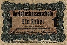 Ro 459c tripulación gasto 1 rublos 1916