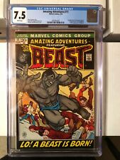 Amazing Adventures (1970) #11 CGC 7.5 1st Appearance of Beast with Fur