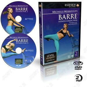 Barre Fitness : Beginners to Advanced : 2 Disc Set : Brand New